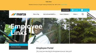 Marta Employee Portal