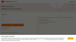 Mastercard Connect Portal