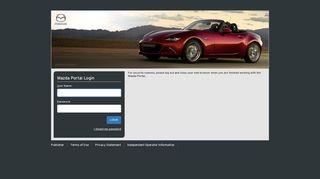 Mazda Portal Login Eur