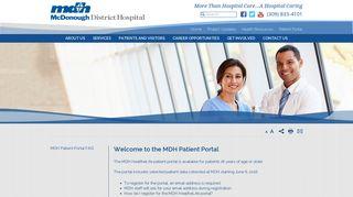 Mdh Portal - Find Official Portal