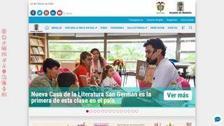 Medellin Gov Co Portal