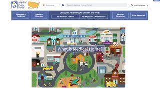 Medical Home Portal