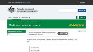 Medicare Online Portal
