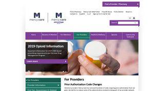 Mercy Care Provider Portal