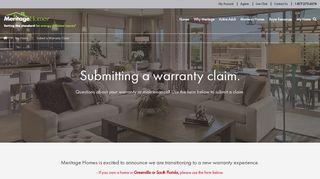 Meritage Homes Portal
