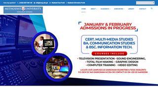 Methodist University College Ghana Student Portal