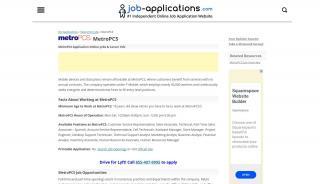 Metropcs Application Portal