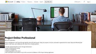 Microsoft Project Portal