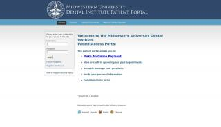 Midwestern University Patient Portal