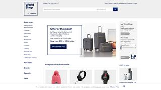 Miles And More Shopping Portal