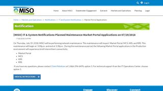 Miso Market Portal