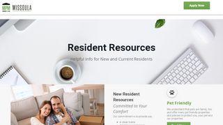 Missoula Property Management Tenant Portal