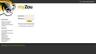 Mizzou Student Portal