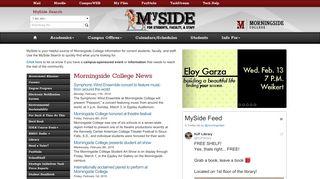Morningside College Portal