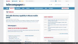 Mozaic Mobile Portal