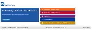 Mta Employee Portal