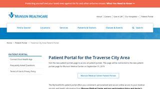 Munson Family Practice Patient Portal