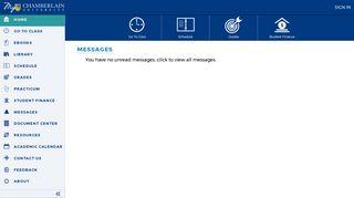 My Chamberlain Student Portal