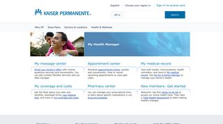 Medical Provider Home Page