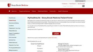 My Healthy Life Patient Portal