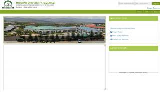 Mzu Online Admission Portal