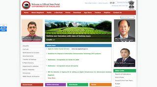 Nagaland State Portal