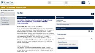 Ndnu Campus Portal