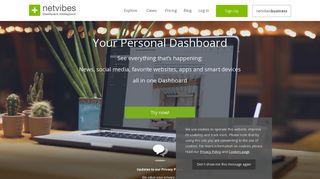 Netvibes Web Portals