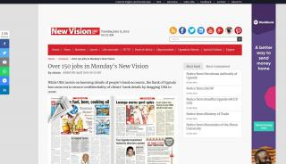 New Vision Job Portal
