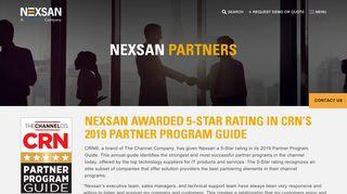 Nexsan Partner Portal