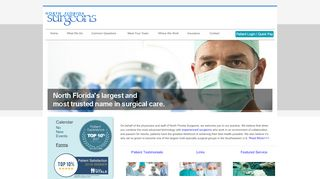 North Florida Surgeons Portal