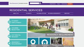 Northwestern Housing Portal