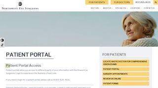 Nweyes Com Patient Portals