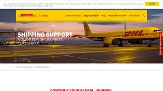 Online Payment Portal Dhl