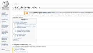 Open Source Collaboration Portal