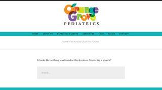 Orange Grove Pediatrics Patient Portal