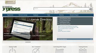Oregon Business Portal