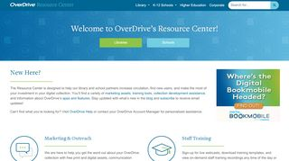 Overdrive Partner Portal