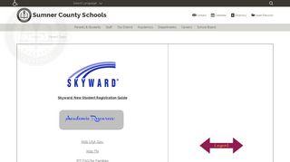 Parent Portal Sumner County