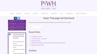Partners In Women's Health Portal