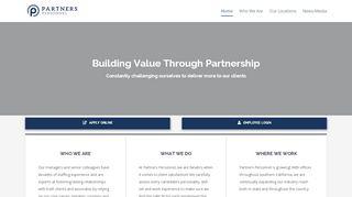 Partners Personnel Portal