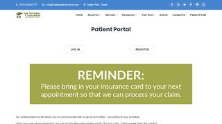 Patient Portal Cedar Park