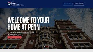 Penn Housing Portal