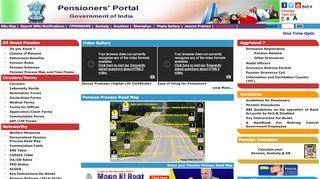 Pensioners Portal Mobile App