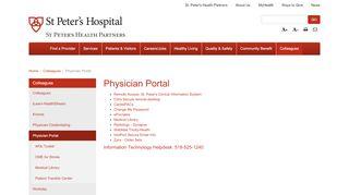 Physician Portal Help