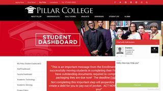 Pillar College Student Portal