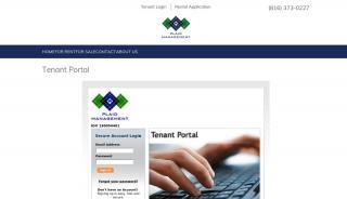 Plaid Management Tenant Portal