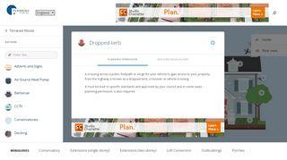 Planning Portal Dropped Kerb