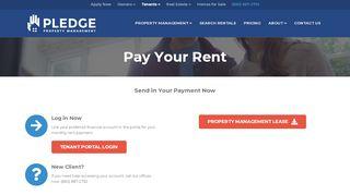 Pledge Property Tenant Portal