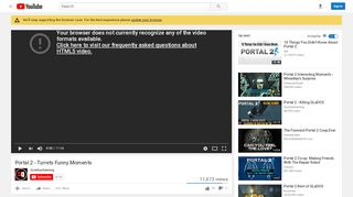 Portal 2 Funny Turrets